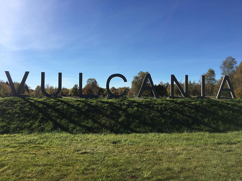 Accès au parc à Thème Vulcania