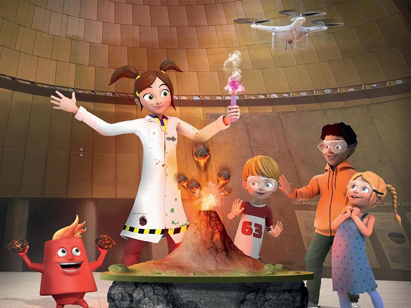 Animations Découvertes du Parc sur les volcans