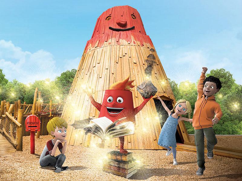 Animations Spéciales Enfants du Parc sur les volcans