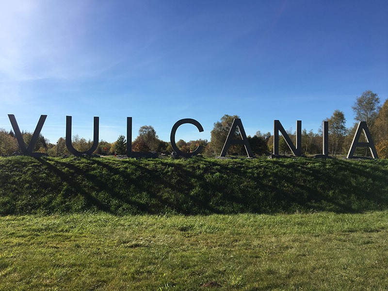 Zugang zu Vulcania
