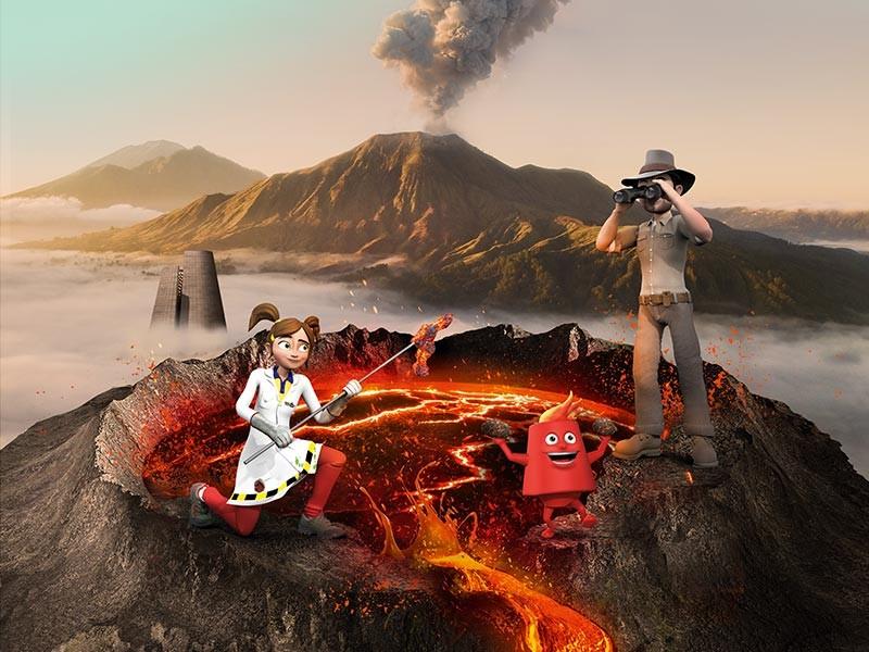 De vulkanen