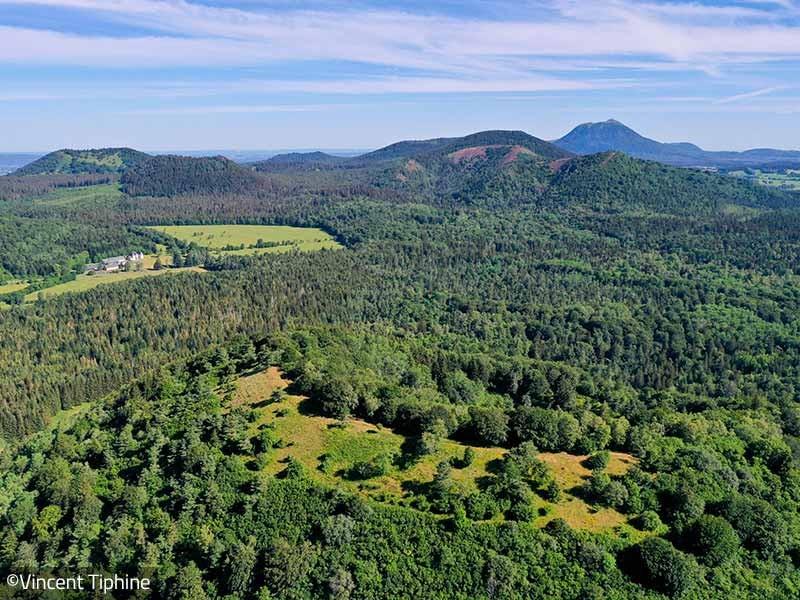 La Maison du Parc naturel régional des Volcans d'Auvergne