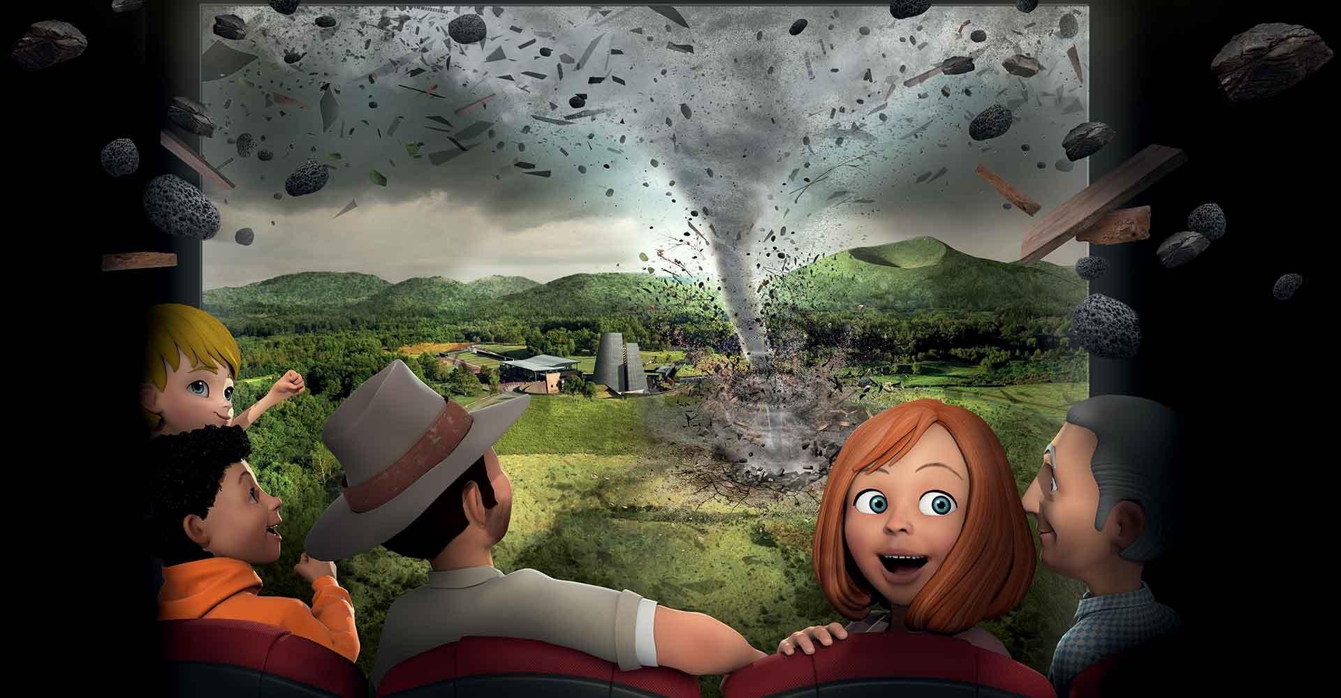 Animations Phénomènes Naturels Parc Vulcania
