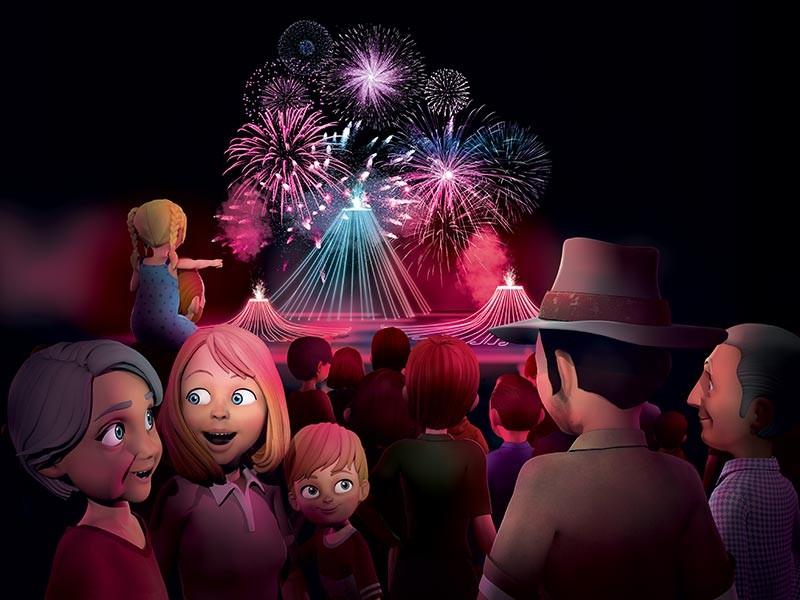 Animations spéciales été au parc Vulcania