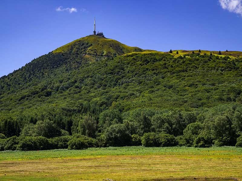 La route des volcans et Vulcania - Le Puy de Dôme