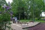 Bel Air campsite - barbecue