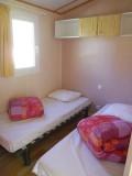 Bel Air campsite - Chalet Côme room 2 beds
