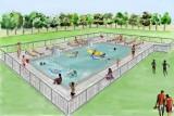 Bel Air campsite - swimming pool