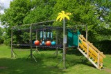 Bel Air campsite - giant trampoline