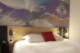 Hôtel Novotel - chambre lit double