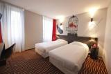 DAV Hôtel Jaude - chambre double lits simples