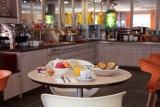 Hôtel Clermont Estaing - Petit déjeuner en salle
