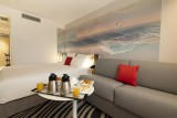 Hôtel Novotel - petit-déjeuner dans la chambre