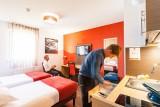 Privilodges - chambre double lits séparés