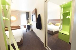 Hôtel Campanile Clermont-Ferrand Centre - Chambre familiale quadruple