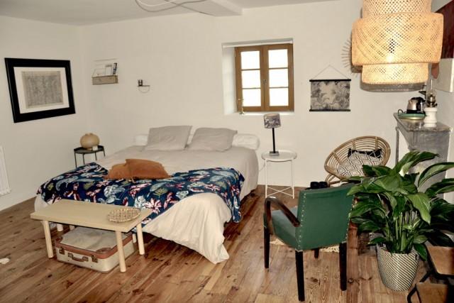 Chambre d'hôtes Villa Colombier - Chambre quadruple