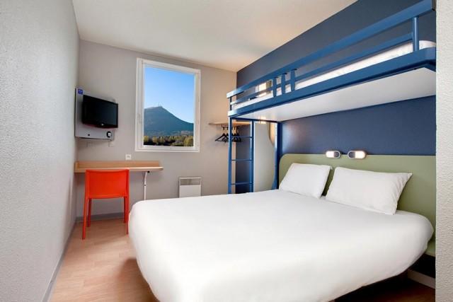 Hôtel Ibis Budget Clermont Ferrand Riom Nord - Chambre triple