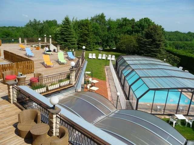 Hotel La rose des vents - solarium