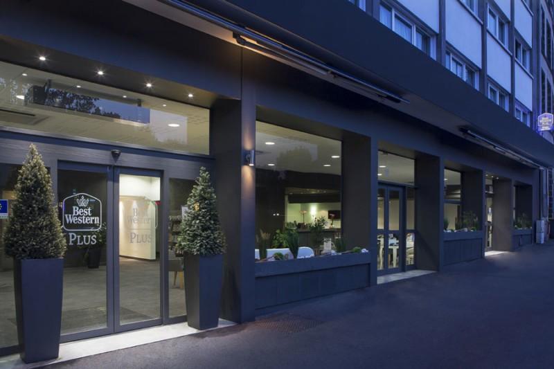 BW Plus Hôtel Littéraire Alexandre Vialatte - entrée