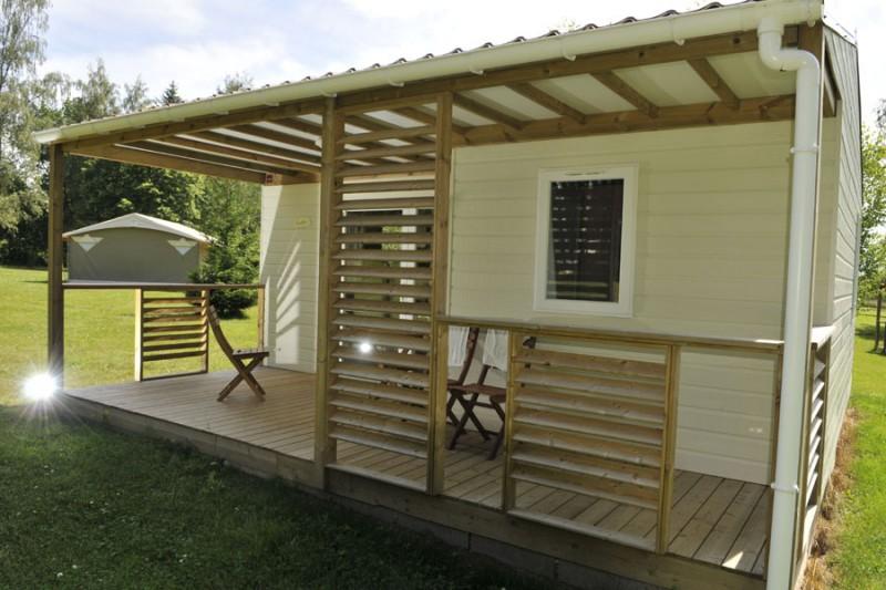 Camping Bel Air - Chalet Gouttes
