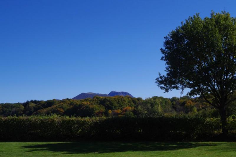 Bel Air campsite - Chaîne des Puy view