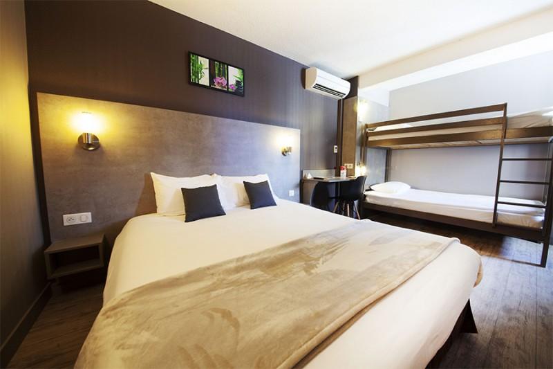 Hôtel Lune Etoile - Chambre quadruple