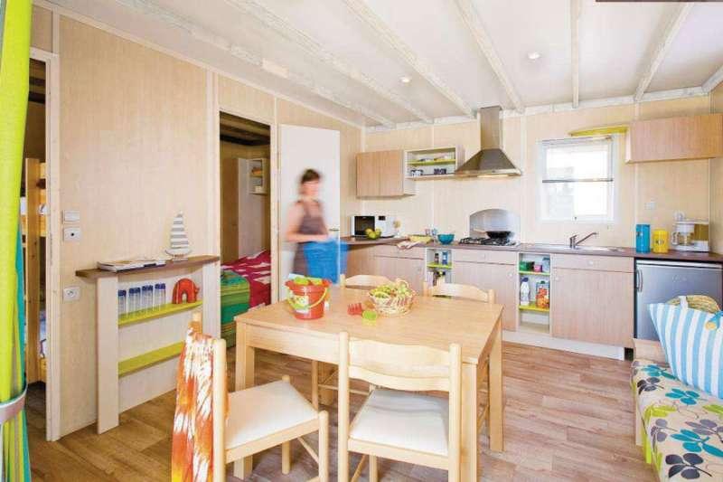 Campsite Les Fougères - kitchen