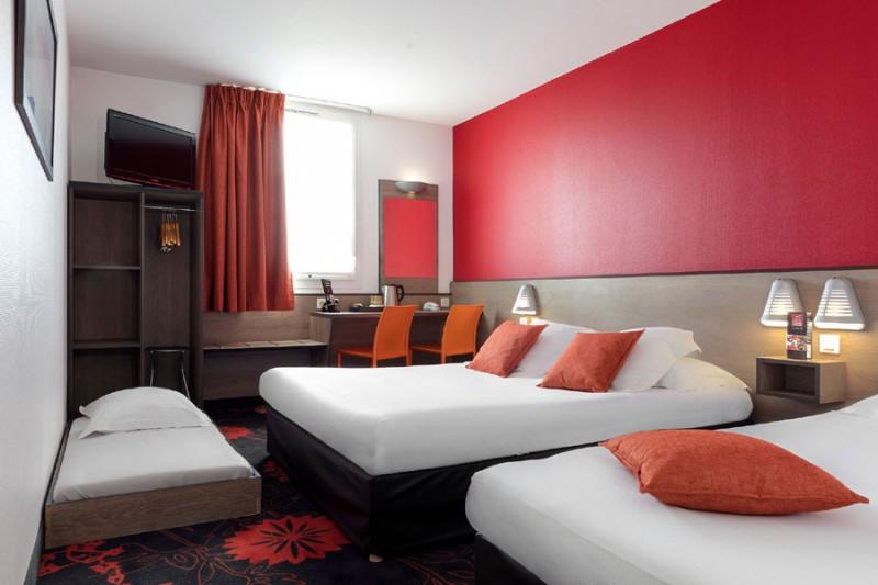 Hôtel Clermont Estaing - Chambre quadruple